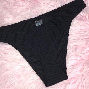 Topshop ribbed bikini bottoms
